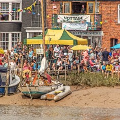 Waiting for the 2014 Regatta to Start | Photo: Ivan Beales