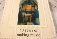 50 Years of Playing the Organ at St Mary's