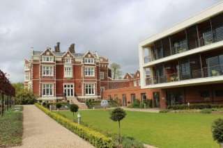 Wivenhoe House and the Edge Hotel School with 40 bedrooms which was added in 2012  | Photo by Tony Forsgate