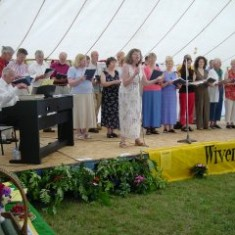 Wivenhoe Gilbert & Sullivan Society performing on stage    | Photo by Peter Hill