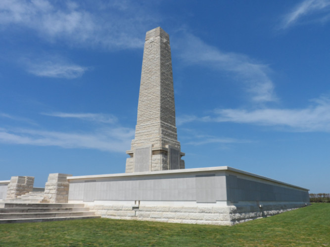 Helles Memorial in Turkey which commemorates the soldiers who died in Gallipoli | Photo from the Comonwealth War Graves