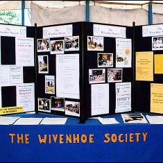 The Wivenhoe Society stand | Sue Murray ARPS