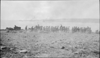 Suvla Bay landings WW1