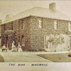 The Rice Family Home circa 1898   John  Stewart Collection