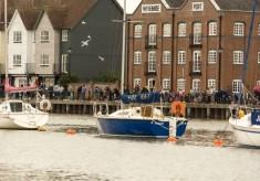 Wivenhoe Crabbing