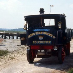 Steam Lorry used in the BBC film