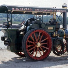 Traction Engine used in the BBC film