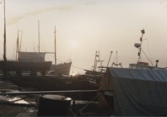 Guy Harding's Boatyard in the 1980s