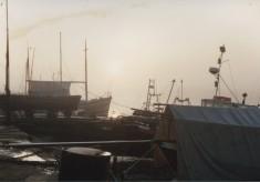 Guy Harding's Boatyard in the 1980s