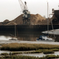 Ballast Quay Fingringhoe from Wivenhoe | Mike Downes