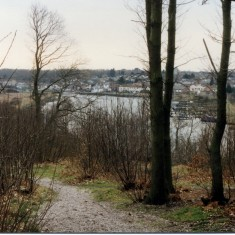 Rowhedge and the River Colne from Wivenhoe wood | Mike Downes