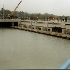 The Colne Barrier under construction from the east | Mike Downes