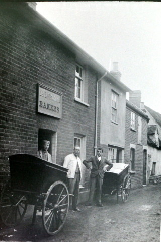 Franks, the bakers in East Street, in the early 1900s.