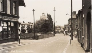 Ernshaw Grocers and Railway Bridge etc. | Photo Wivenhoe Memories Collection