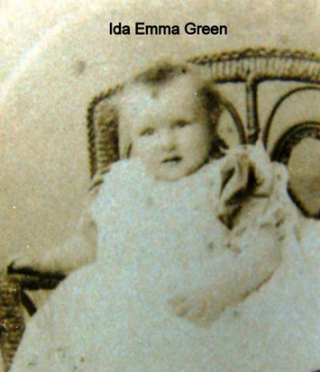 Ida Emma Green daughter of James