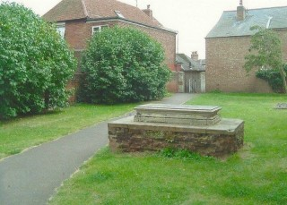 William Brummell's box tomb in St Mary's Churchyard | Wivenhoe Memories Collection