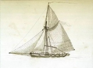The Repulse, a cutter built for the Revenue Service, was stationed at Wivenhoe.