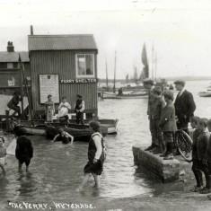 Wivenhoe/Fingringhoe Ferry Pre WW2 | Wivenhoe Memories Collection