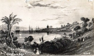 A View of Wivenhoe in 1832 by William Bartlett | Wivenhoe Memories Collection