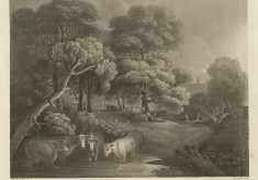 View in Summer near Wivenhoe (1796)