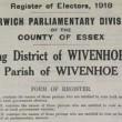 The 1918 Electoral Register