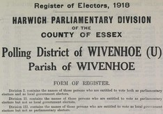 The 1918 Electoral Register