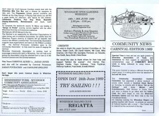 Wivenhoe Carnival 1989
