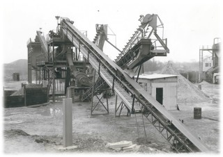 The 'new' Washing Plant in the 1970s  | Photo loaned by Alex Stanmore