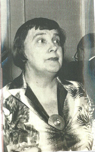 Margery Dean who is credited with founding the Wivenhoe Society in 1966