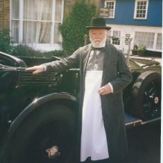 Stan Thurgood as a village shopkeeper | Photo: Peter Hill