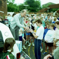 Prize Giving Wivenhoe Mile Race - - Wivenhoe Carnival | Photo Mike Downes