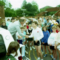 Prize Giving - Wivenoe Mile Race = Wivenhoe Carnival | Photo Mike Downes