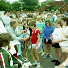 Prize Giving Wivenhoe Mile Race - Wivenhoe Carnival  | Photo Mike Downes