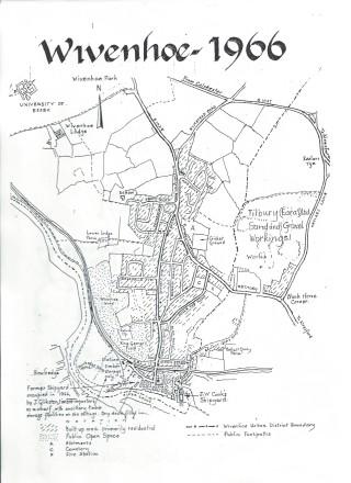 Wivenhoe as it was in 1966