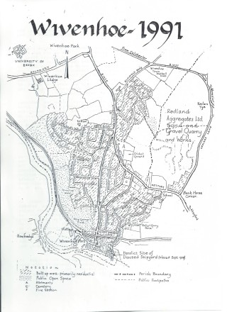 Wivenhoe as it had become in 1991