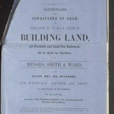 Wivenhoe House Estate Auction Plots 24 April 1857 (D-DU-225-14-3) | Courtesy Essex Record Office