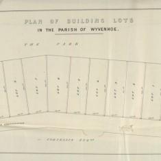 Wivenhoe House Estate Auction Plots 24 April 1857 (D-DU-225-14-5) | Courtesy Essex Record Office