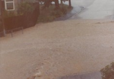 Valley Road Flood 1976