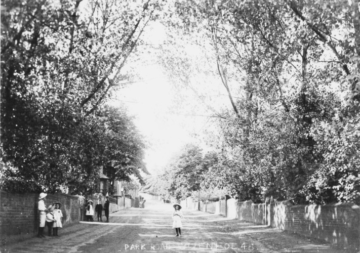 Park Road Circa 1905 Looking North from Queens Road | Wivenhoe Memories Collection