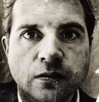 'Portrait of Francis Bacon' by John Deakin, photograph, 1952, Museum no. PH.100-1984 | By courtesy of the Victoria and Albert Museum (VAM)