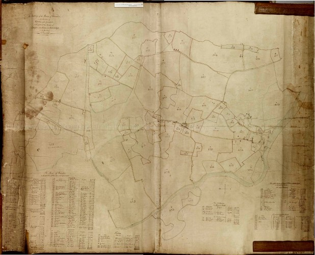 1799 Survey Map of Wivenhoe (A13644, Box1) | Reproduced by courtesy of Essex Record Office
