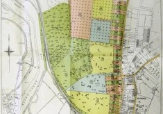 Plan of the Wivenhoe Hall Estate