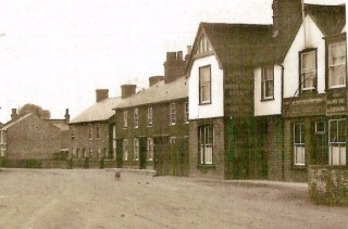 Extract from an old postcard of Wivenhoe Cross | Wivenhoe Memories Collection