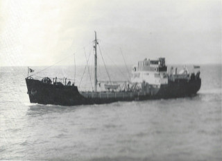 The Ben Hebden was the 6th of 7 such coastal tankers, with an overall length of 145 feet and 40 dwt.