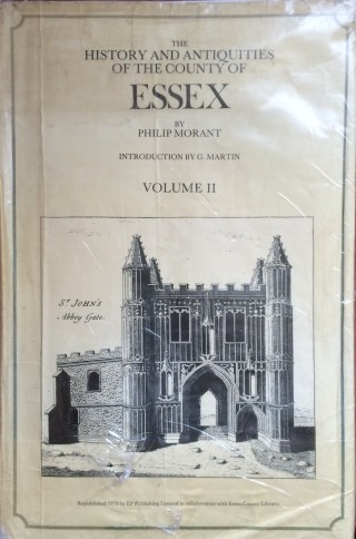 The History and Antiquities of the County of Essex, Vol II | Book Jacket