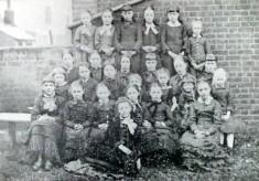 Pupils at the British School