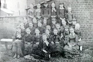 Pupils of the British School in West Street | Wivenhoe Memories Collection