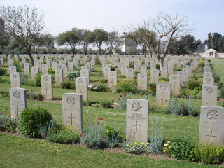 Gaza War Cemetery, Israel and Palestine (including Gaza) | Photo from Commonwealth War Graves Commission