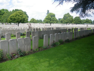Lijssenthoek Cemetery Memorial, West Vlaanderen, Belgium | Photo from Commonwealth War Graves Commission