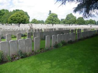 Lijssenthoek Cemetery Memorial, West Vlaanderen, Belgium   Photo from Commonwealth War Graves Commission